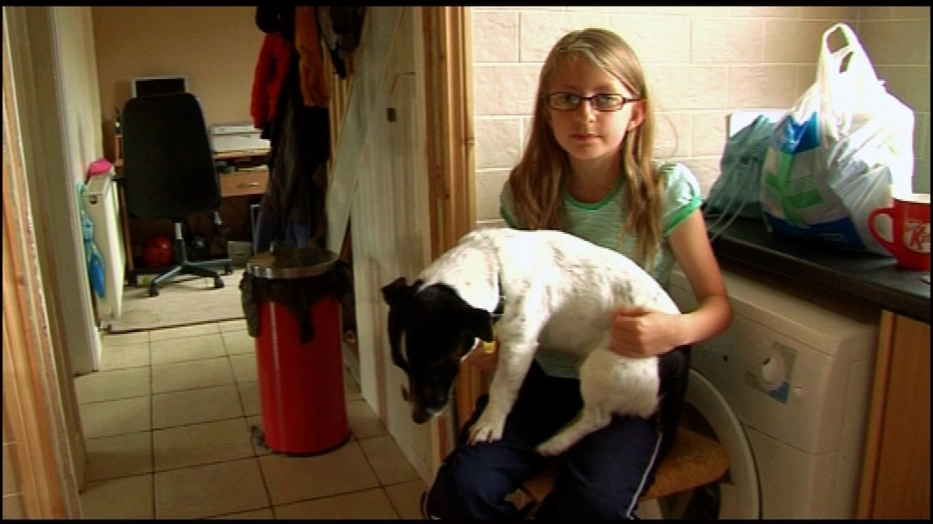 Chloe&dog